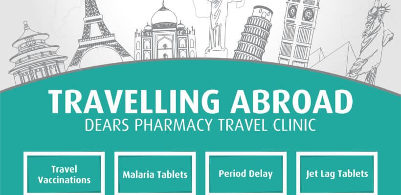 Dears Pharmacy Travelling Abroad