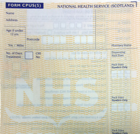 Dears Pharmacy Scottish Prescription CTA