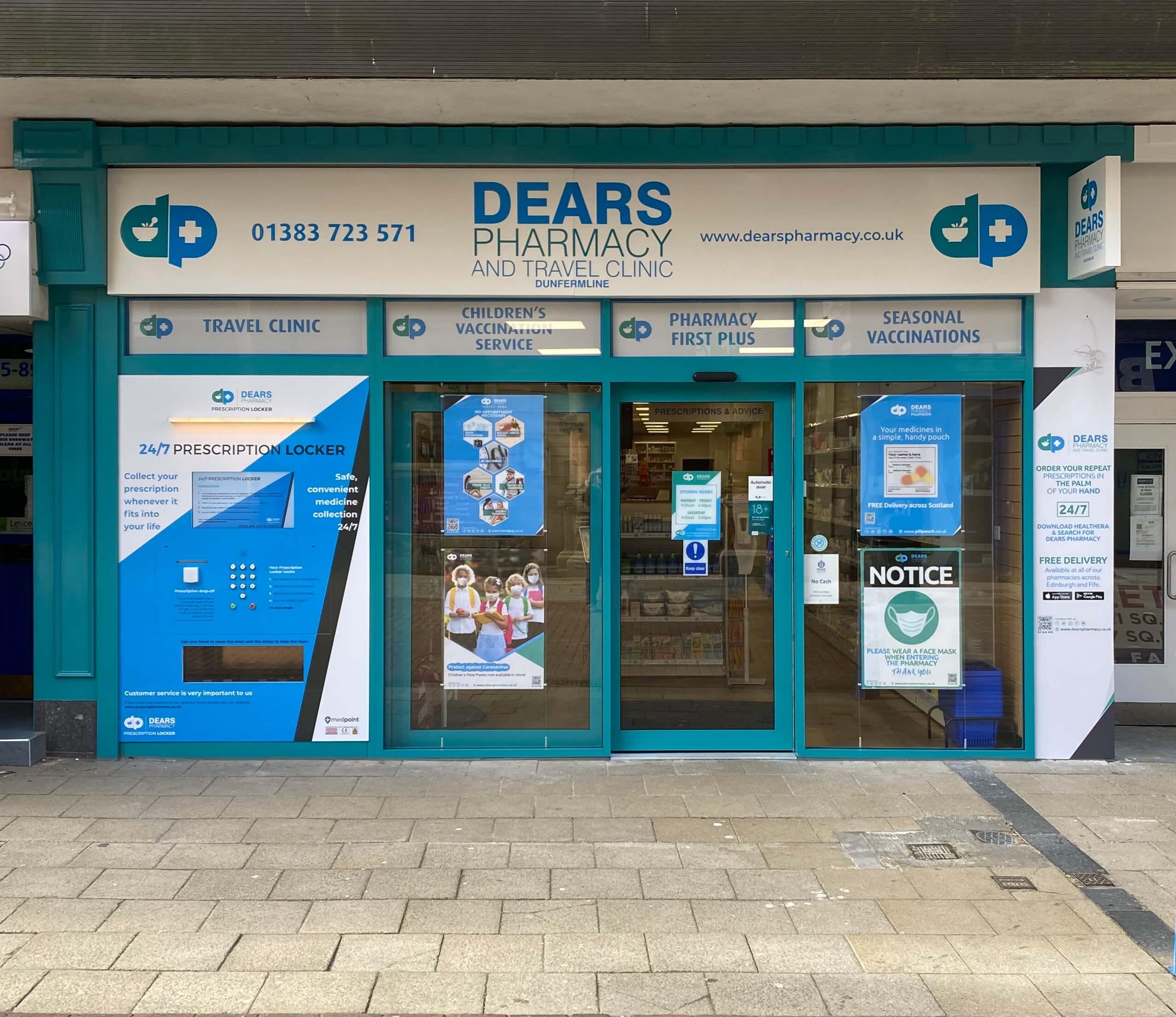 Dears Pharmacy Dunfermline