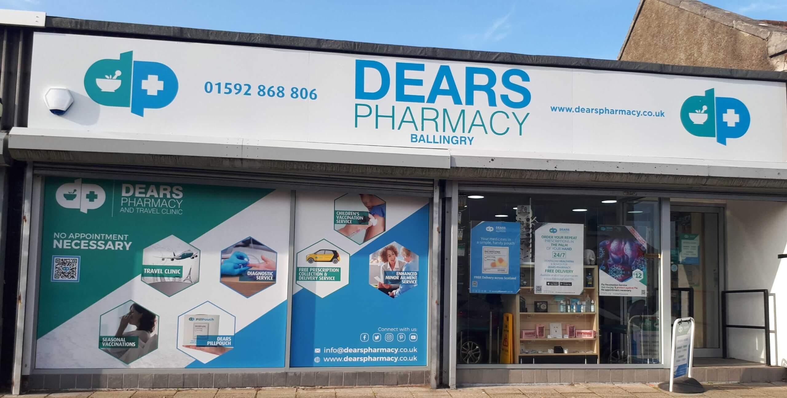 Dears Pharmacy Ballingry
