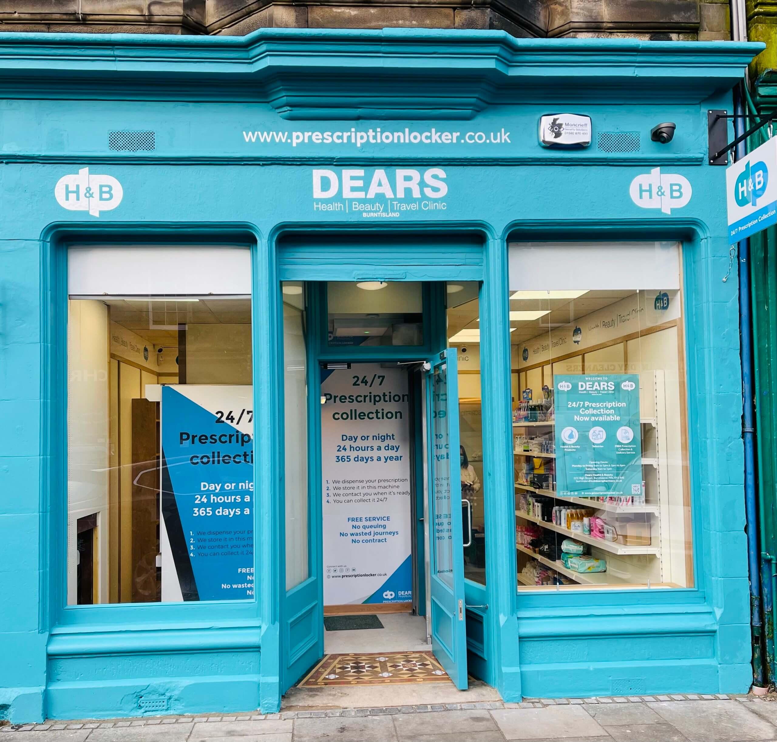 Dears Pharmacy Burntisland Health and Beauty