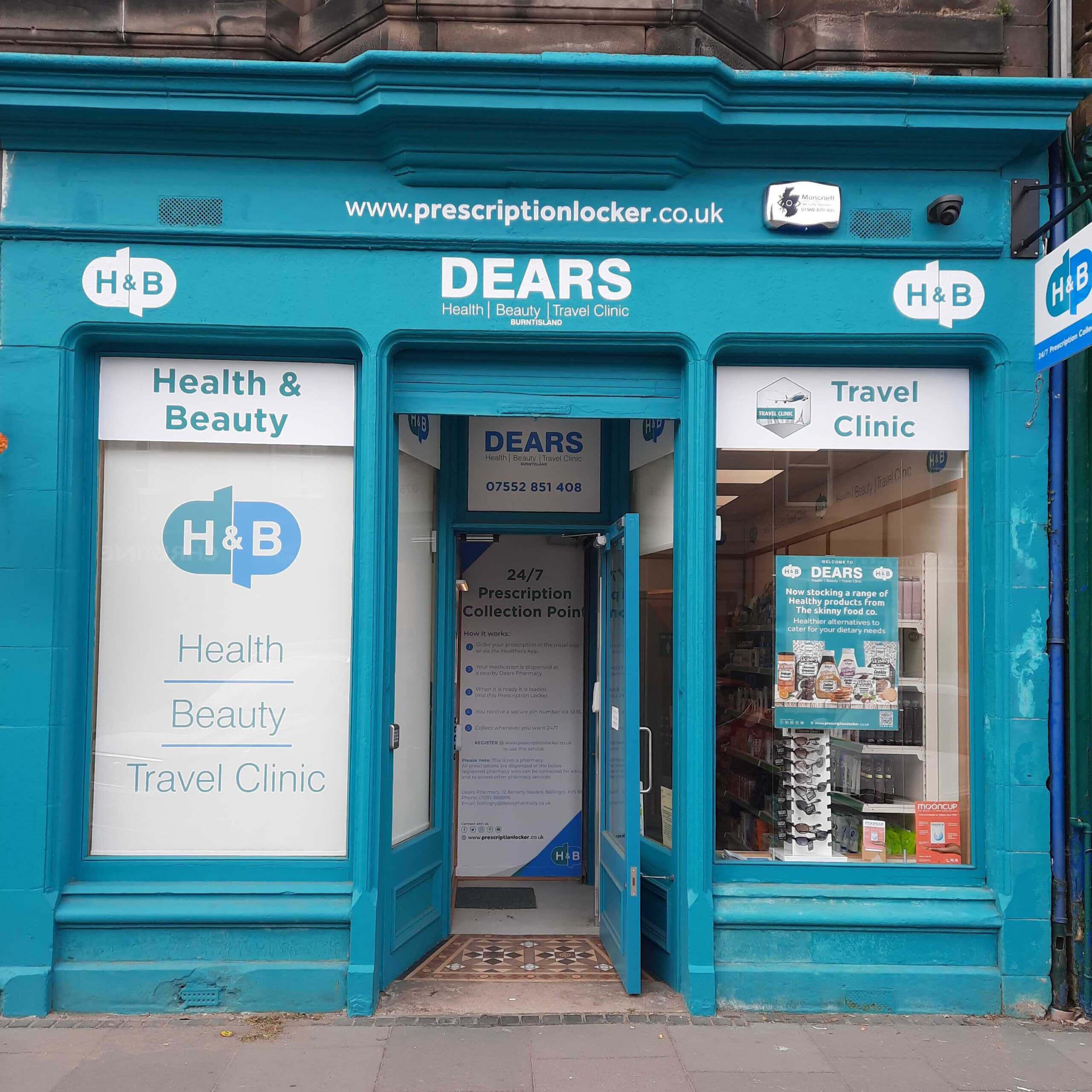 Dears Pharmacy Burntisland
