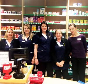 Dears Pharmacy Easter Road Team
