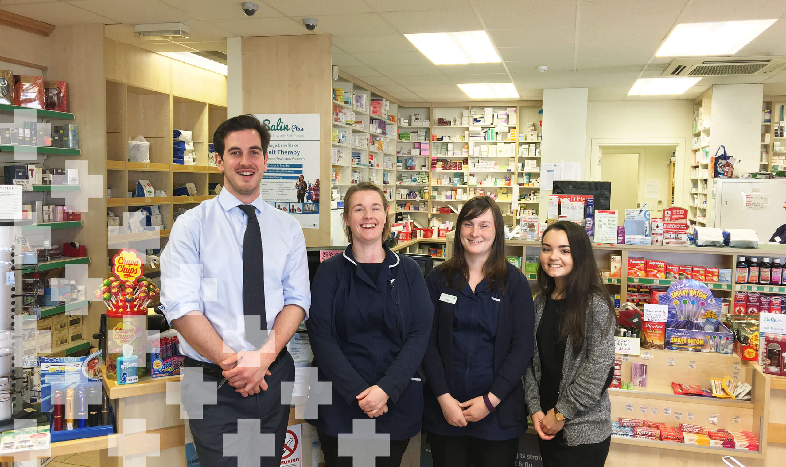 Dears Pharmacy Drylaw Team Hero