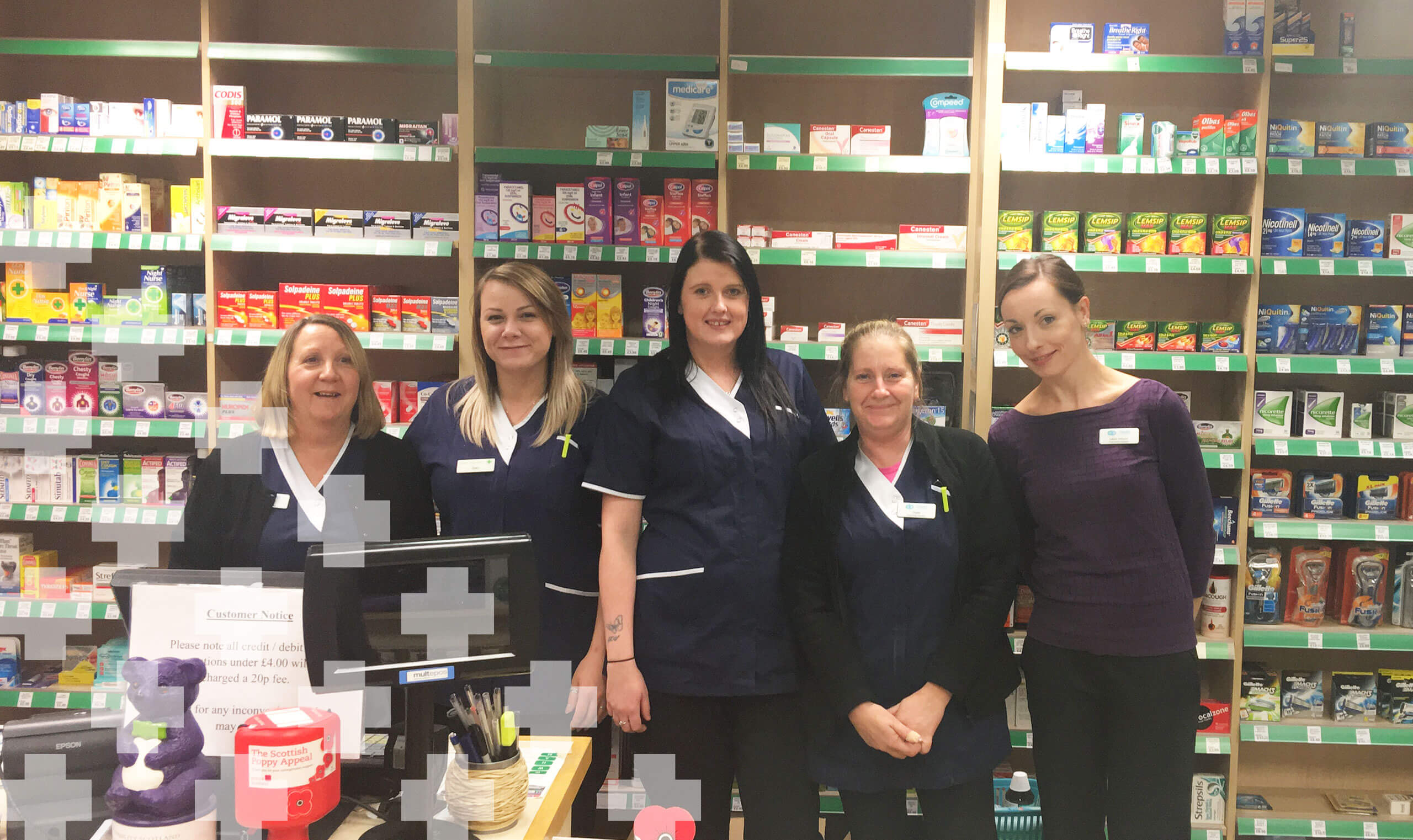 Dears Pharmacy Easter Road Team Hero