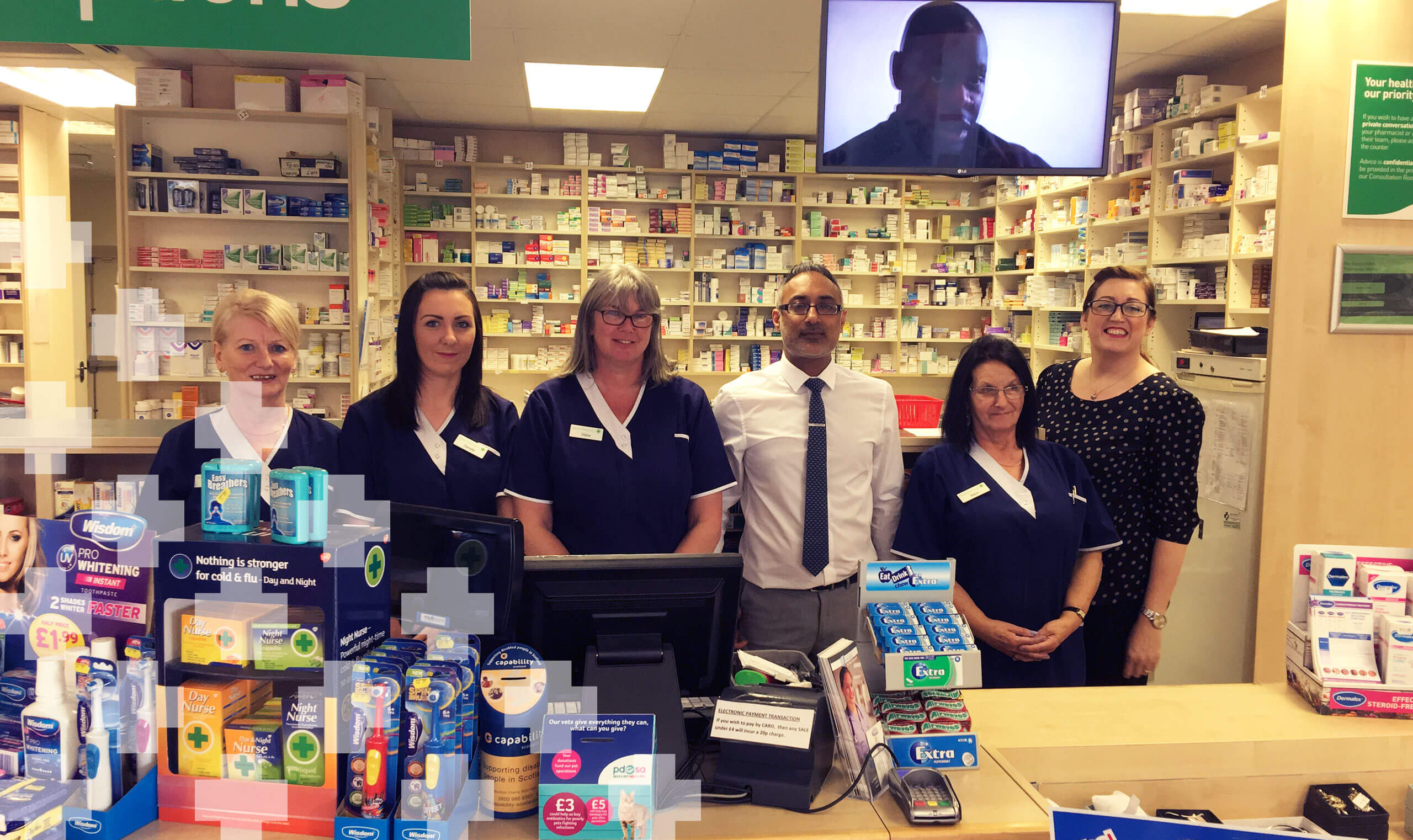Dears Pharmacy Glenrothes Team Hero