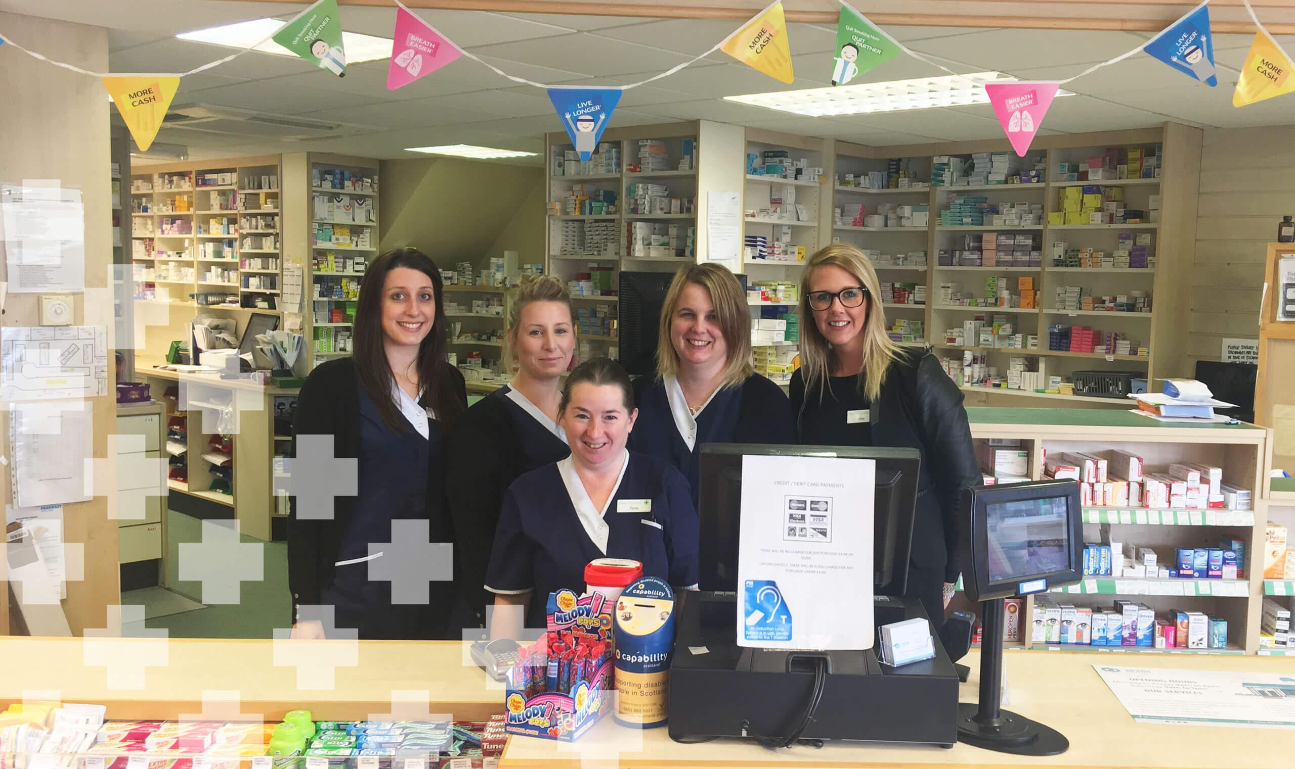 Dears Pharmacy Kelty Team Hero