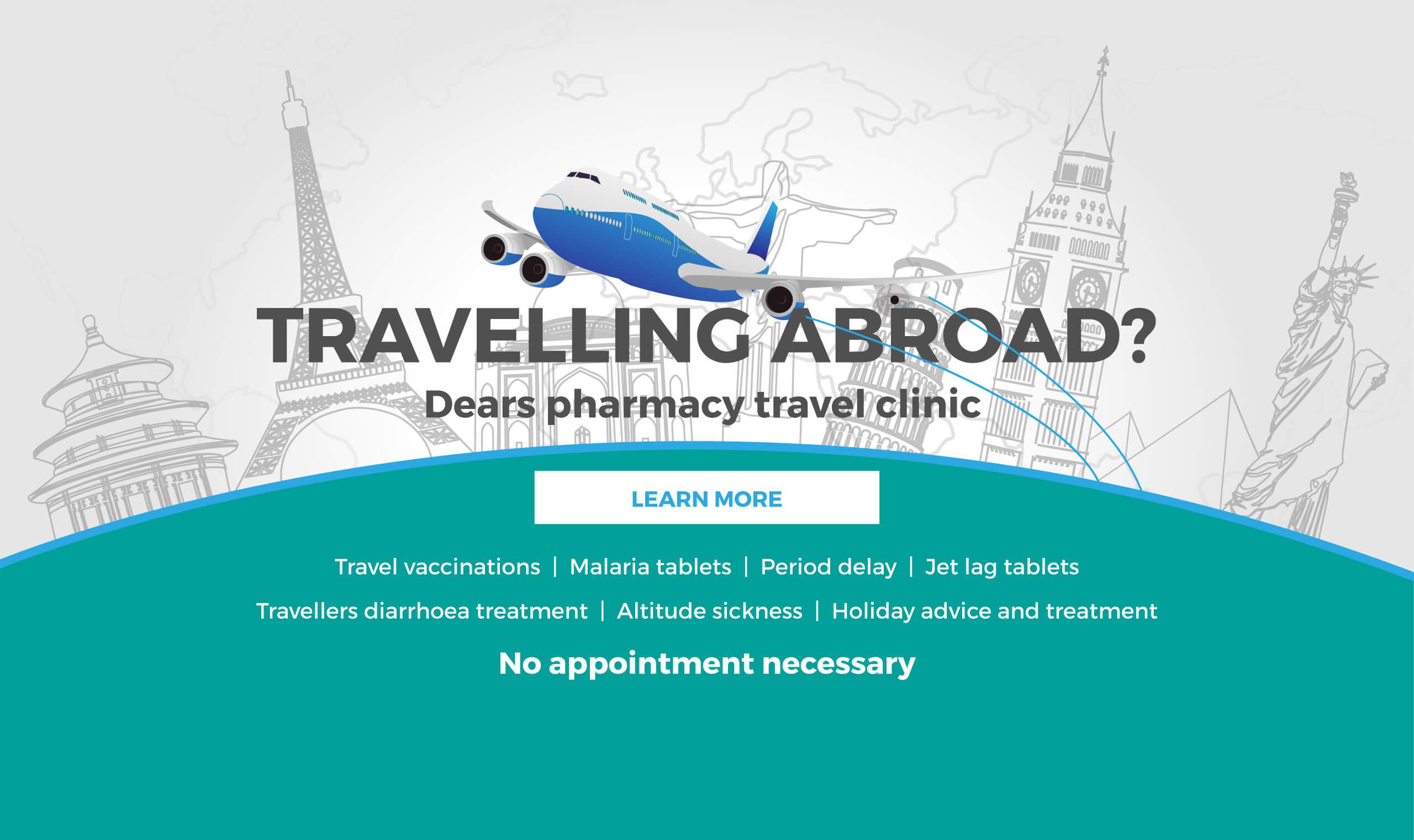Dears Pharmacy Travelling Abroad?