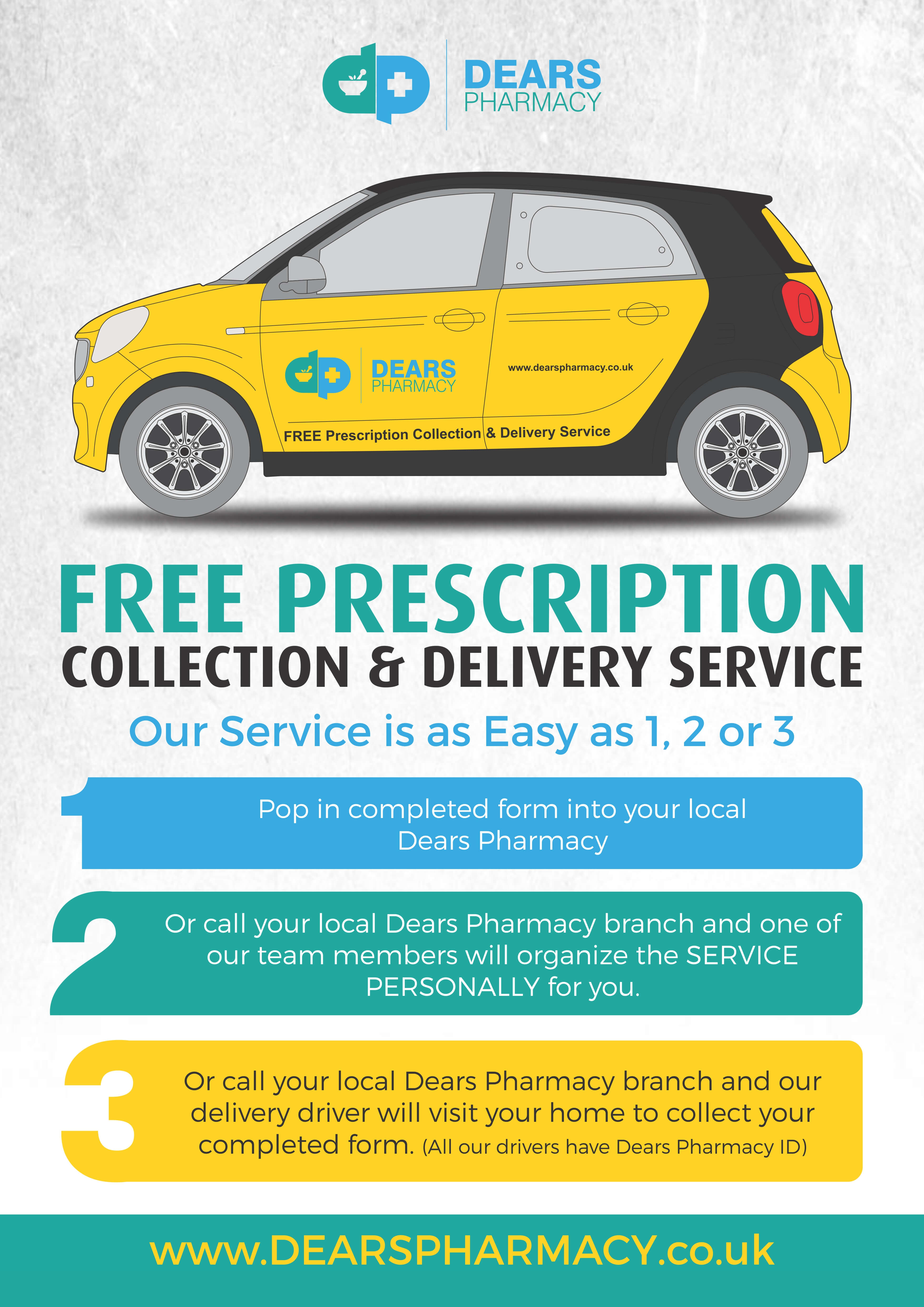 Pharmacy free delivery uk