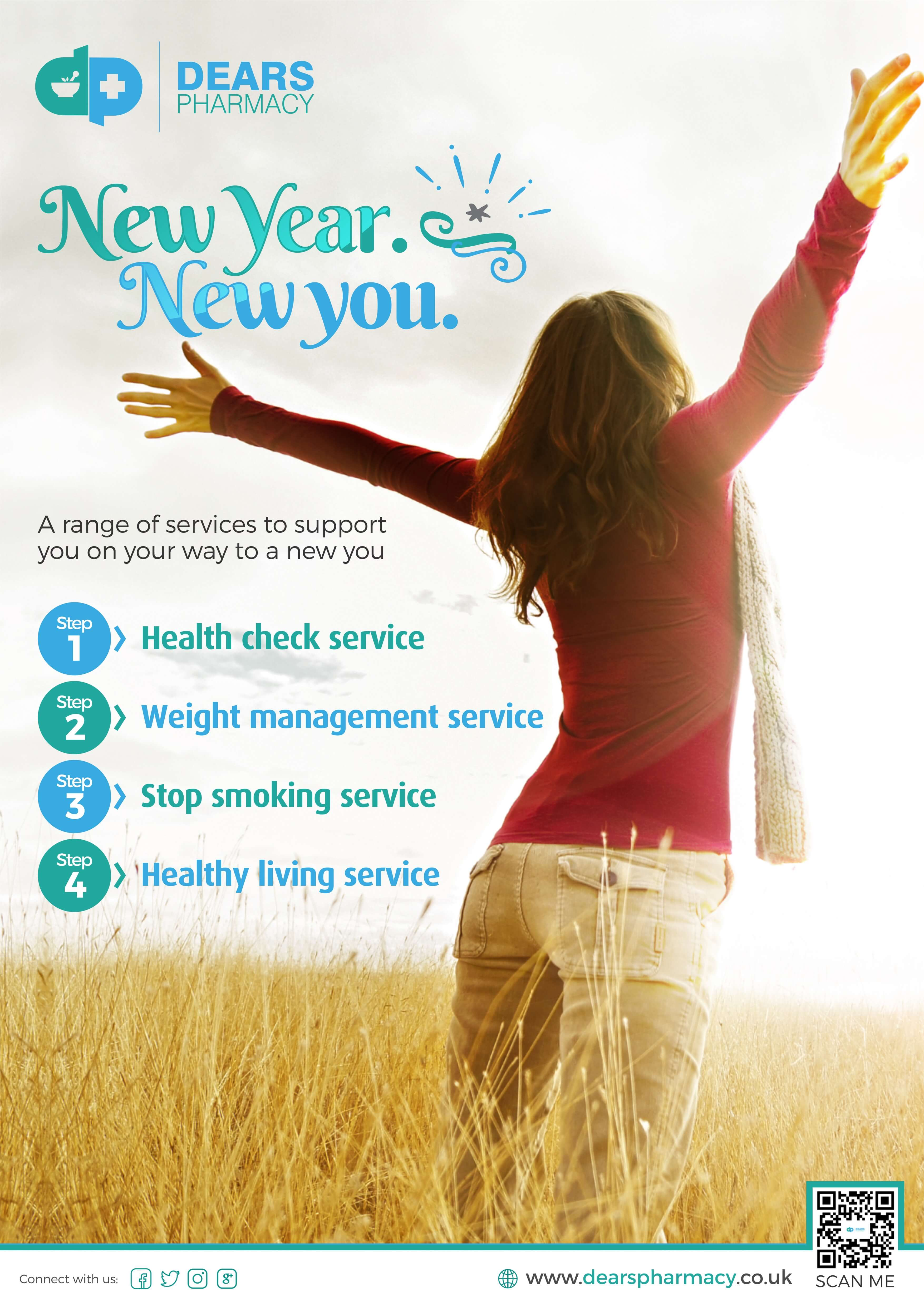 New Year, New You | Dears Pharmacy | Edinburgh and Fife